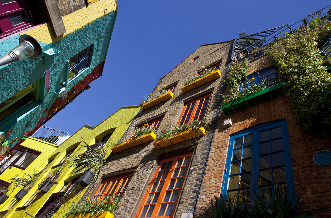 Neal's Yard at Covent Garden